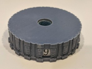HP Dial for 50 mm Miniatures - Columns