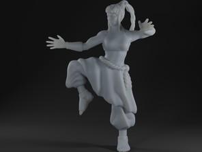 Water Dancer Monk