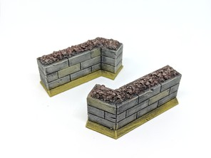 Wall Section for Gloomhaven