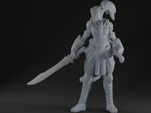 Elf Ninja Miniature