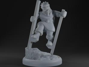 Dwarf On Stilts