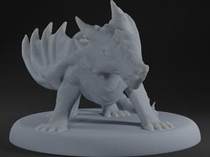 Angry Baby Dragon