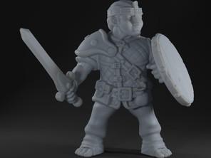 Halfling Warrior