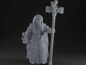Female Dwarf Mage Priest