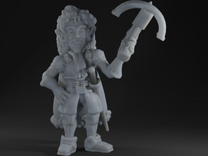 Male Gnome Rogue