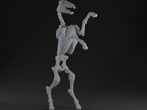 Undead Skeleton Horse
