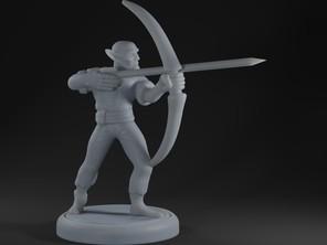 Elf Pirate Archer