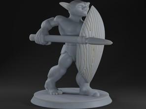 Goblin Shield Fighter