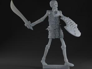 Armoured Skeleton