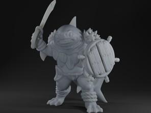 Bullshark Warrior