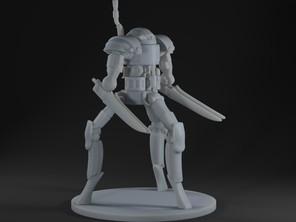 Clockwork Tri Leg Battle Master