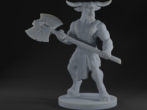 Minotaur with axe