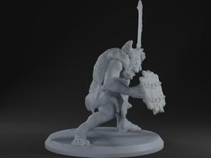 Goblin Sword & Shield