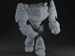Dwarven Steam Golem