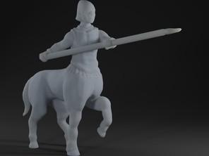 Centaur with spear