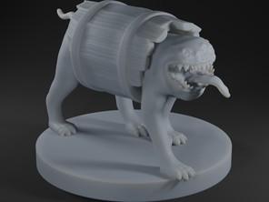 Barrel Mimic Dog