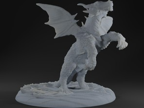 Dragonling - Action Pose