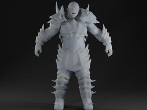 Male Half-Orc-Ogre
