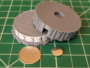 HP Dial for 45 mm Miniatures - Columns