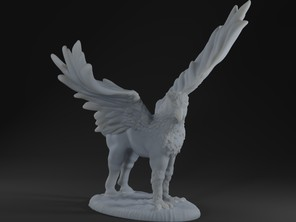 Hippogriff - Action Pose