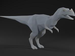 Low Polly Ceratosaurus