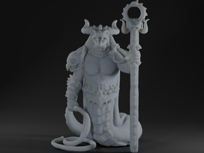 Yuan-Ti Necromancer