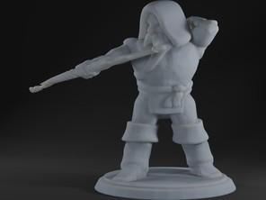 Duergar Archer Standing