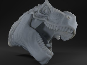 T. Rex Easy Print and Glue