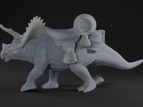 Triceratops beast of Burden