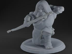 Duergar Archer Kneeling