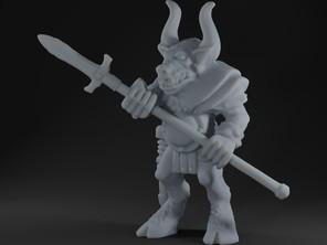 Battle masters - Beastmen with spear