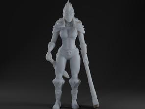 Barbarian girl 2