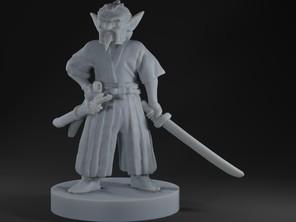 Goblin Samurai