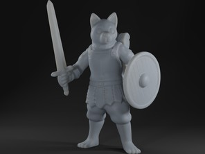 Dogfolk Warrior (Kuro)