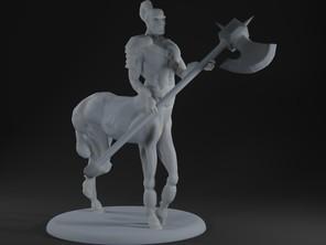 Centaur Guard with Axe