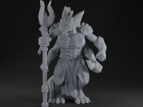 Sahuagin Warrior