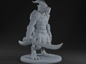 Kobold warrior