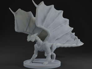 Frill-winged dragon
