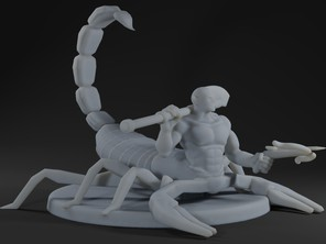 Scorpion King (Aka Eberron Drider)