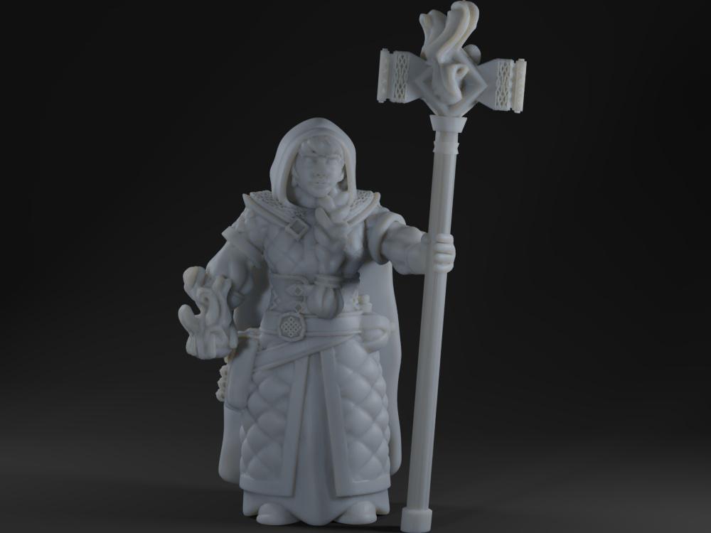 Female Dwarf Mage Priest