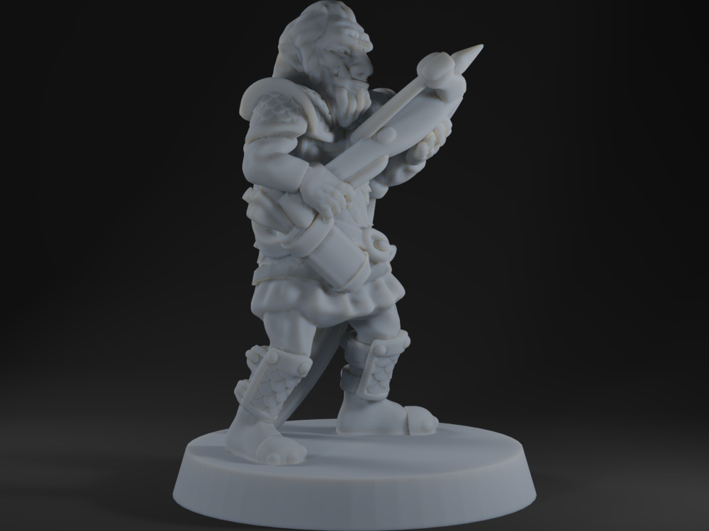 Hobgoblin with crossbow (No supports needed)