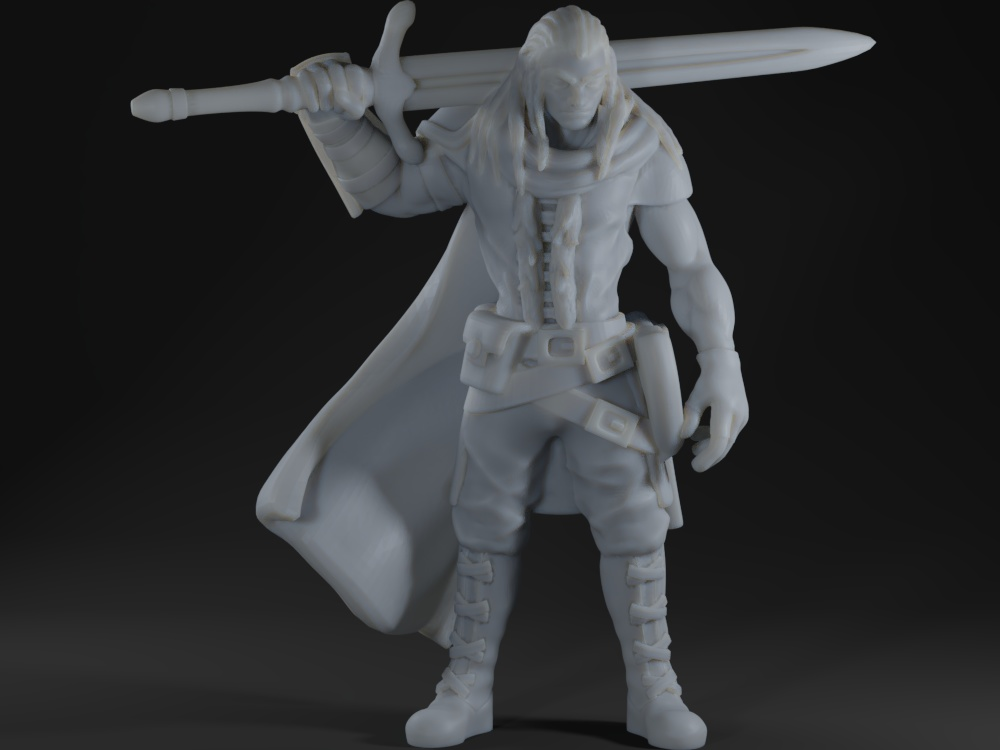 Human Barbarian/Fighter