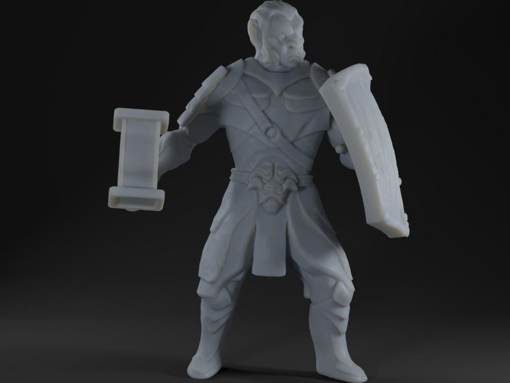 Hobgoblin (hammer and shield)