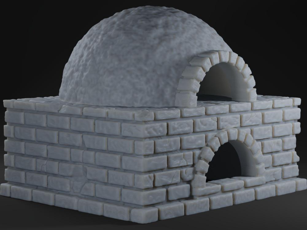 OpenForge Tavern Bread Oven