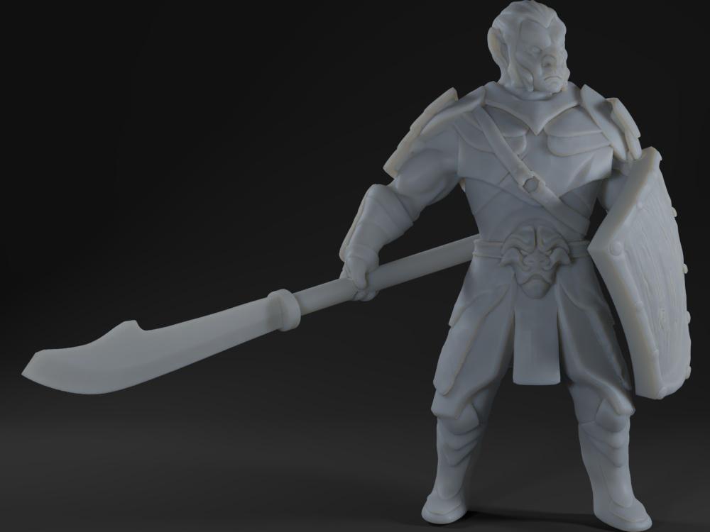 Hobgoblin (spear / halberd)