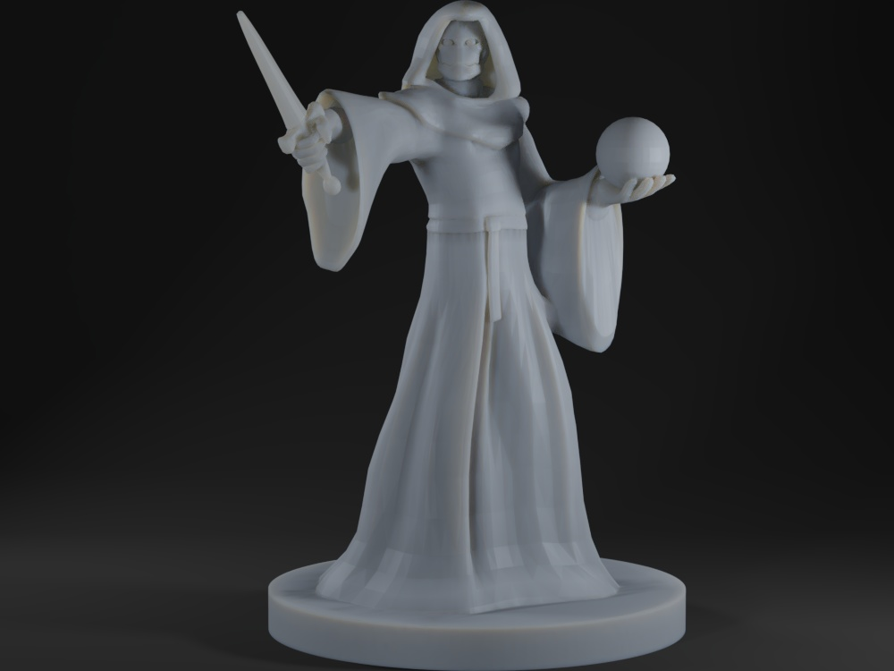 Warforged Warlock