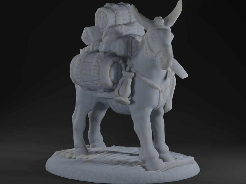 Pack Mule - Casual Pose