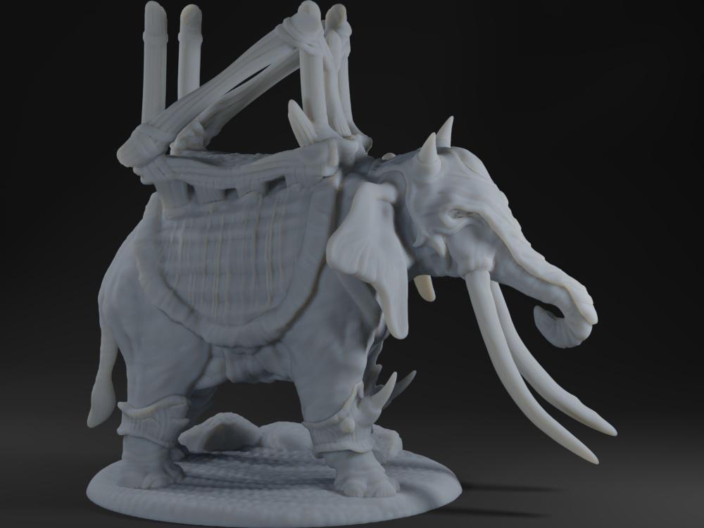 War Elephant - Action Pose