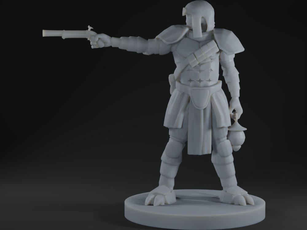 Warforged Gunslinger 2
